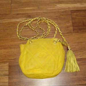Sold-Authentic Chanel tassel bag